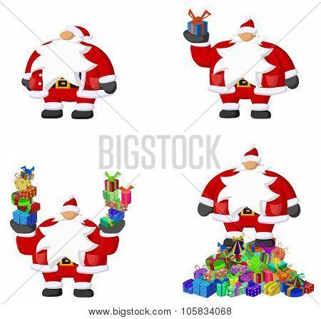 Santa Claus Cartoon, Gifts