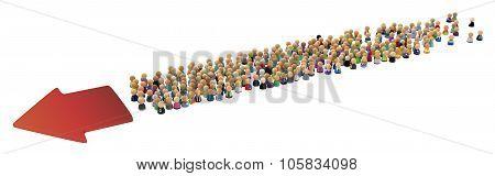 Cartoon Crowd, Directional