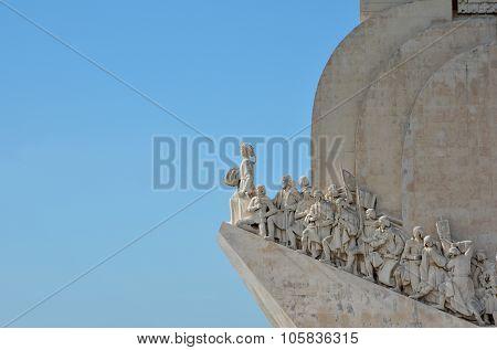 Padrao Dos Descobrimentos Landmark In Lisbon