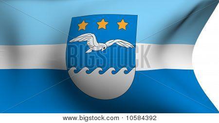 Flag Of Jurmala City, Latvia