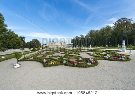 Branicki Palace In Bialystok, Poland