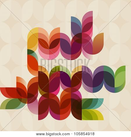Abstract geometric background, eps10 vector