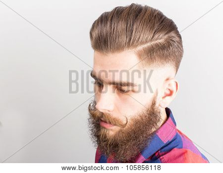 Portrait Of A Hipster