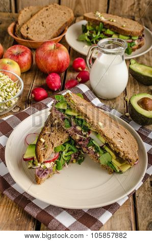 Chipotle-avocado Summer Sandwich Recipe
