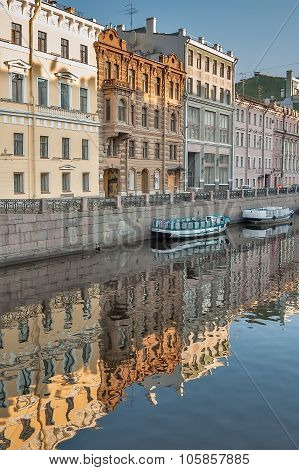 Channel of Griboedov of Saint-Petersburg. Russia