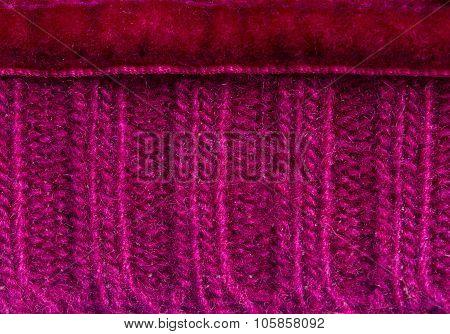 Mauve sweater background