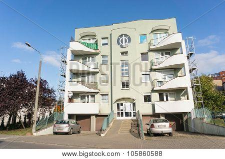Apartment Block Number 98