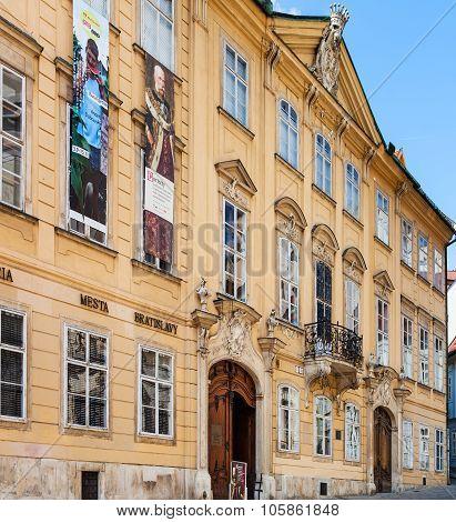 City Gallery Of Bratislava In Mirbach Palace