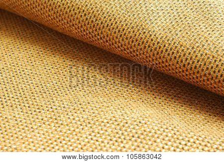 orange Chenille fabric background