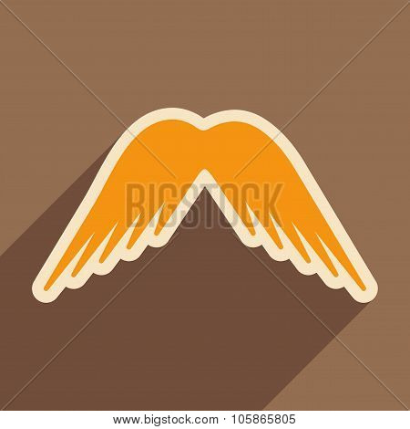 stylish wings of an eagle