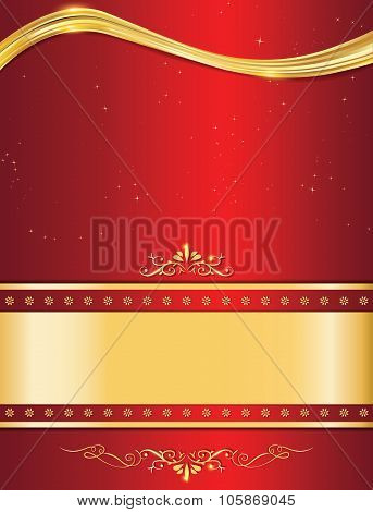 Elegant Celebration background, also for print