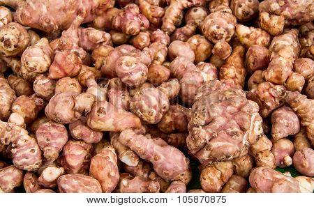 Organic Jerusalem Artichoke Root