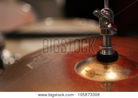 Drum Plate In Studio