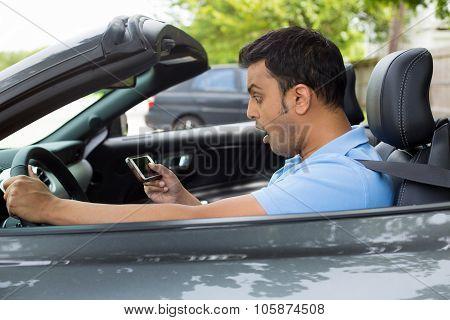 Surprised Driver