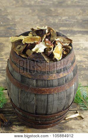 Dry Mushrooms Boletus
