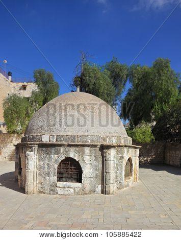 Ethiopian church on the Mount of Olives. East Jerusalem, Israel