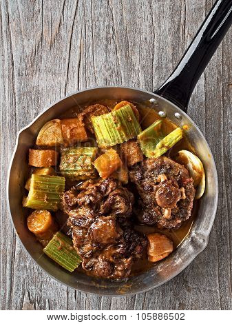 Rustic British Oxtail Stew