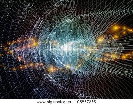 Advance Of Light Waves