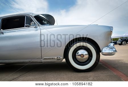 Silver 1949 Oldsmobile Futuramic 88 Fastback Classic Car