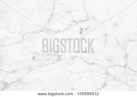 White (gray) marble patterned texture background.
