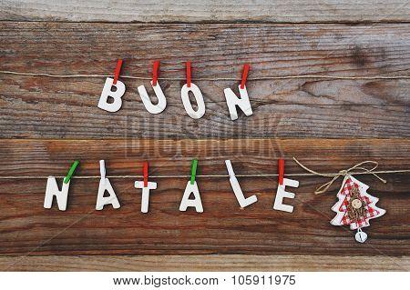 Buon Natale - Merry Christmas