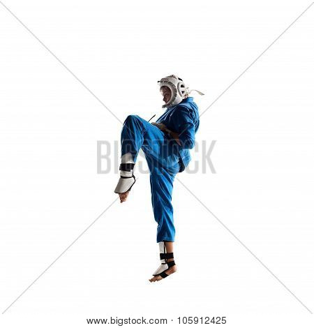 Kudo fighter is fighting Isolated