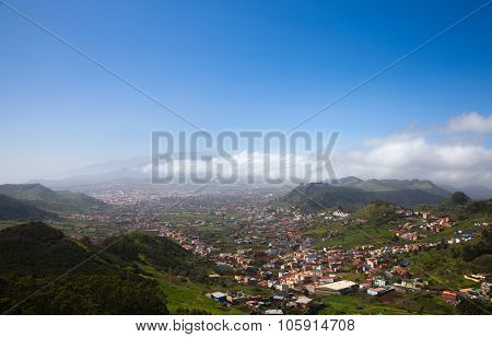 North-east Of Tenerife, View From Mirador Jardina