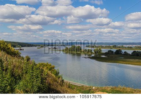 View of the Volga Rive