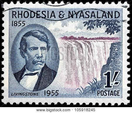 Livingstone Stamp