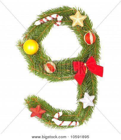 Weihnachten Alphabet