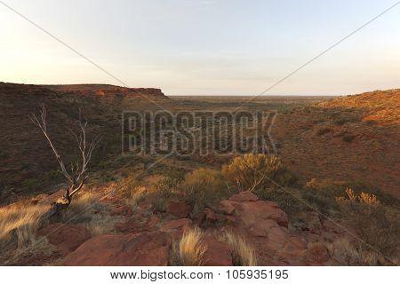 Sunrise Over Kings Canyon National Park - Australia