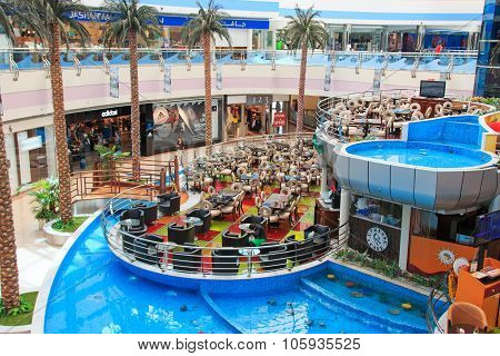 Abu Dhabi, Uae - October 10, 2014: Marina Mall In Abu Dhabi, Uae. It Is One Of The Largest Malls In