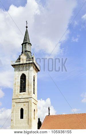 Top Of Visitation Church, Jerusalem