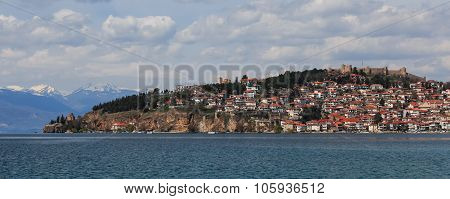Ohrid Lake, Old Town And Fortress