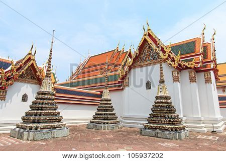 Bangkok, Thailand - April 13, 2015: Wat Pho Known Also As The Temple Of The Reclining Buddha