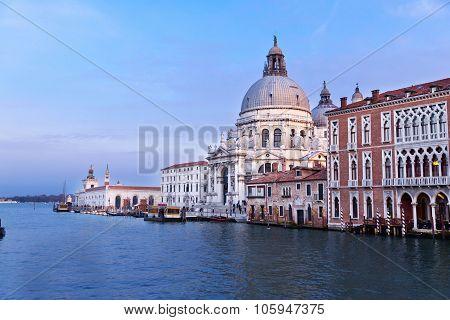 Maria Della Salute Church In Venice