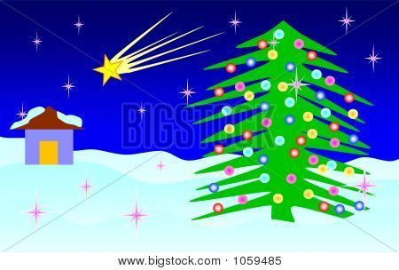 Star Green Tree