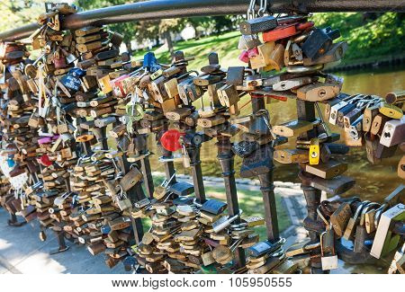 Love Locks In Riga