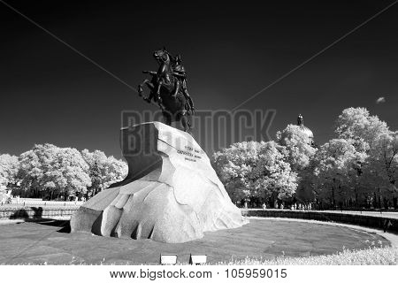 Peter I Monument ,saint-petersburg, Russia