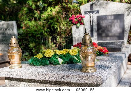 Candle On The Grave