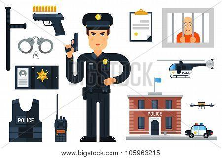 Police Set.