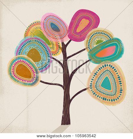 Abstract tree, illustration