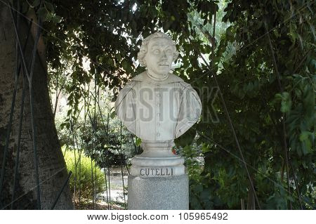 Bust of Mario Cutelli