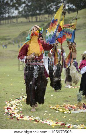 Inti Raymi celebration.