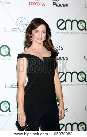 LOS ANGELES - OCT 24:  Kristin Davis at the Environmental Media Awards 2015 at the Warner Brothers Studio Lot on October 24, 2015 in Burbank, CA