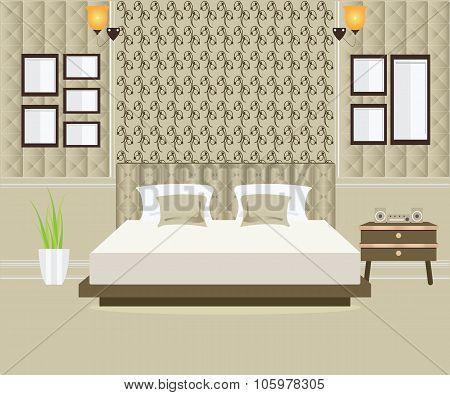 Bedroom Interior Design.