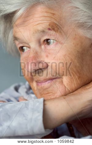 Adorable Senior Woman