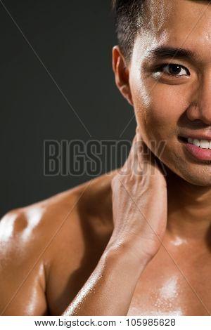 Sweating Man