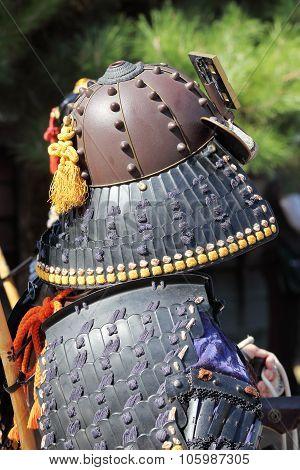 Japanese samurai tradition armor