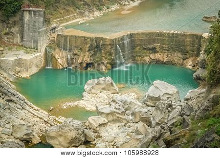 Dam in Nepal